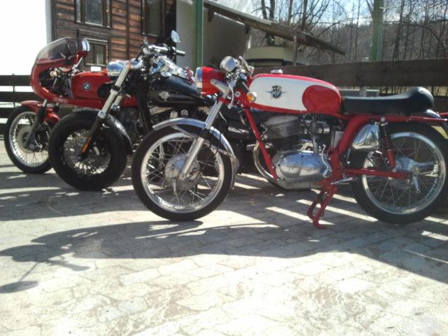 MV Agusta, Harley Davidson, BMW